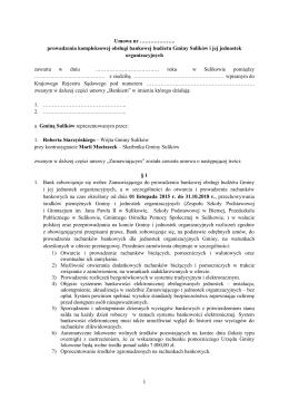 Załącznik - Wzór umowy