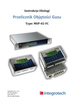 MSP-02-FC - Integrotech