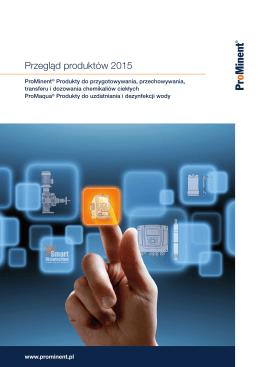 Przegląd produktów 2015