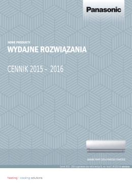 PobierzCennik Panasonic 2015