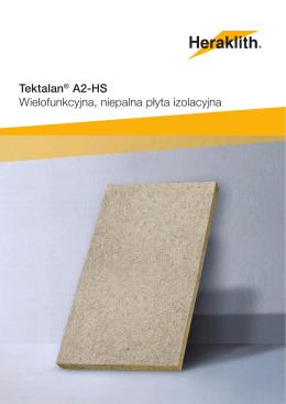 Tektalan® A2-HS Wielofunkcyjna, niepalna płyta