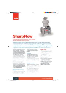 Karta katalogowa SharpFlow
