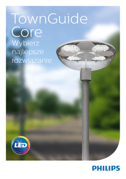 TownGuide Core - Oprawy Philips LED
