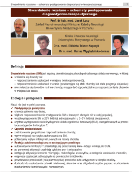 Definicja Etiologia i patogeneza