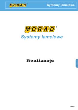 Systemy lamelowe MORAD realizacje