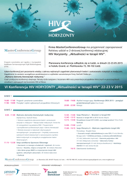 Pobierz PDF - MasterConferenceGroup