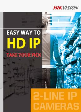 HIKVISION - Kamery IP 2 serii