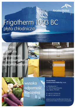 Frigotherm 1003 BC