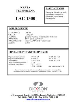 LAC 1300 - dickson