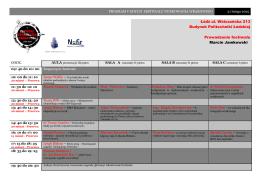 program v edycji festiwalu nurkowania wrakowego