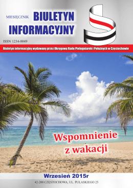 Pobierz plik PDF - okręgowa izba pielęgniarek i położnych w