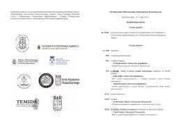 Program – Kazimierz Dolny - Wydział Prawa i Administracji
