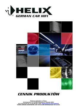 Cennik Helix 01.2016