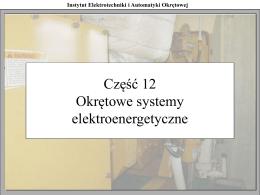 Instytut Elektrotechniki i Automatyki Okrętowej