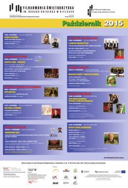 2015 Październik - Filharmonia Świętokrzyska w Kielcach