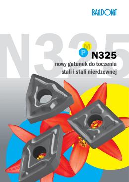 nowy gatunek do toczenia stali i stali nierdzewnej