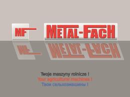 prezentacja firmy Metal-Fach