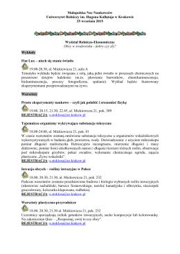 Program - Witryna Wiejska