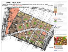 Projekt miejscowego planu zagospodarowania przestrzennego pod