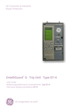 EntelliGuard G Trip Unit Type GT-H