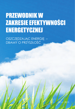 Przewodnik w zakresie efektywności energetycznej