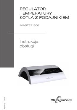 MASTER 500 v. 2015 instrukcja obsługi