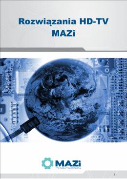 Rozwiązania HD-TV MAZi