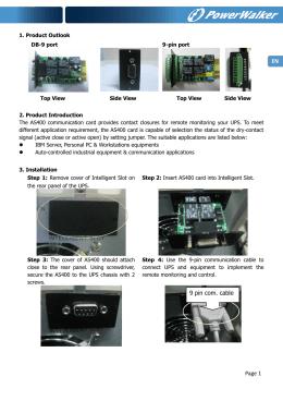 Manual - PowerWalker