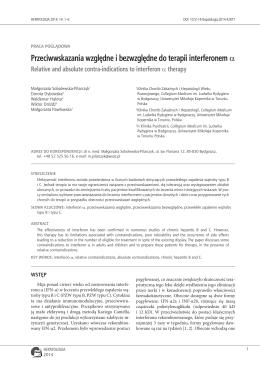 HEPATOLOGIA 2014-14-1–6-Sobolewska-Pilarczyk i wsp