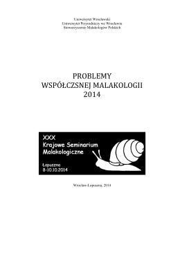pobierz w pdf - Stowarzyszenie Malakologów Polskich