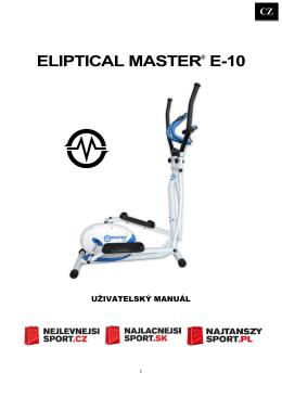eliptical master e-10