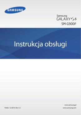 Samsung Galaxy S5 Instrukcja Obsługi