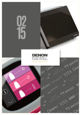 Denon Dental Info 2/2015.
