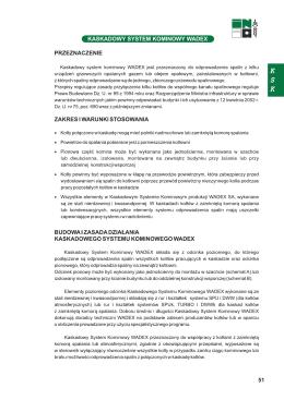 KASKADOWY SYSTEM KOMINOWY WADEX 51