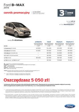 Cennik promocyjny - GRUPA BEMO Motors