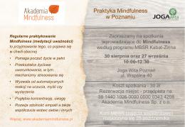Akademia Mindfulness
