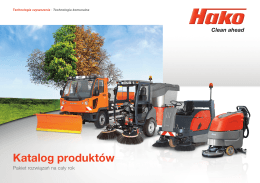 Katalog produktów HAKO