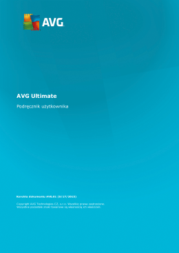 AVG Ultimate User Manual