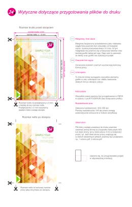 Wytyczne dotyczące przygotowania plików do druku