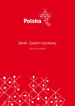 Banki. System bankowy