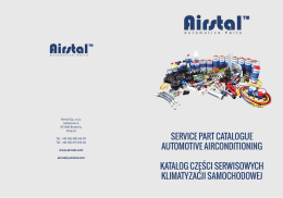 service part catalogue automotive airconditioning katalog