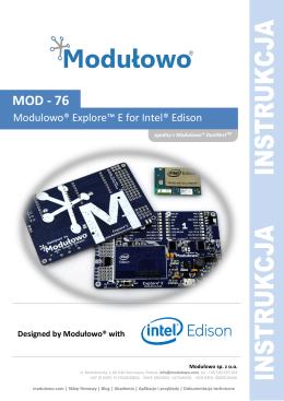 Instrukcja użytkownika PDF MOD-76