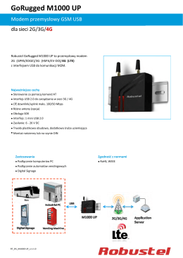 GoRugged M1000 UP