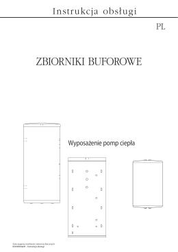 Instrukcja obsługi - Zbiorniki buforowe - Alpha