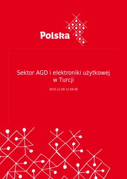 Sektor AGD i elektroniki użytkowej w Turcji