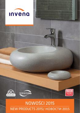 Katalog nowości łazienka 2015