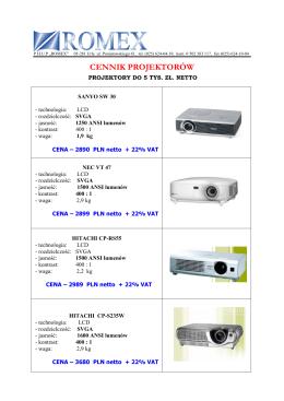 projektory w dobrej cenie - sprawdź