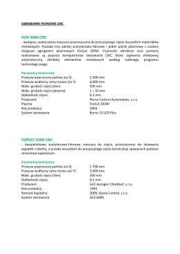 Obrabiarki pionowe CNC - KARIMPEX