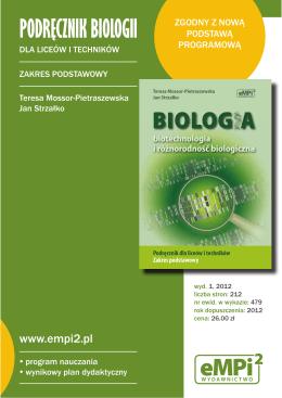 PODRĘCZNIK BIOLOGII