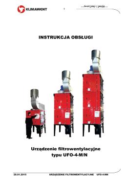Instrukcja obsługi UFO-4-M/N